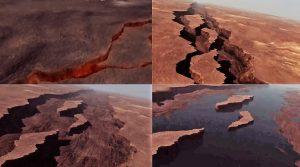 Spaccamento del Super continente